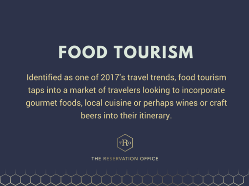 Are you on Trend? Food Tourism
