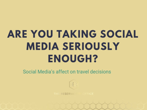 Social Media's affect on travel decisions – are you taking it seriously?
