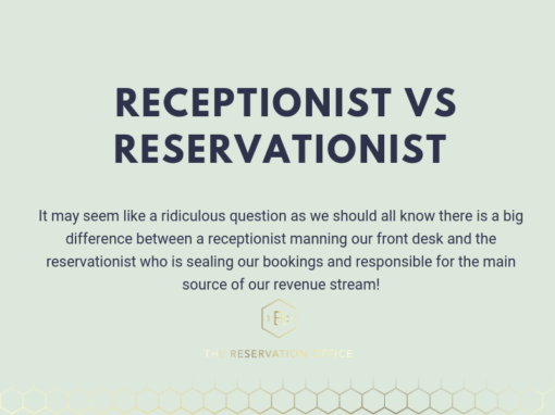 DO YOU KNOW THE DIFFERENCE BETWEEN A RECEPTIONIST AND A RESERVATIONIST?