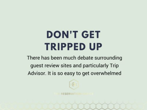 Don't Get Tripped Up- Trip Advisor Reviews & Your Business