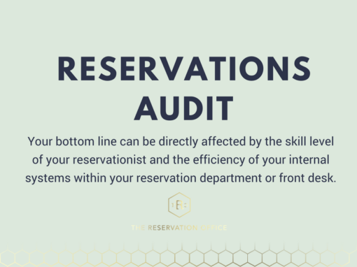 Give your Reservation Process an Audit!