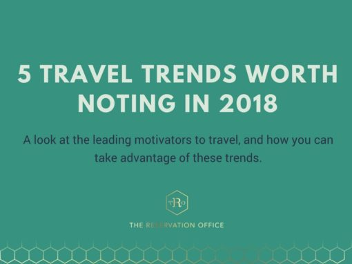 5 Travel Trends worth Noting in 2018